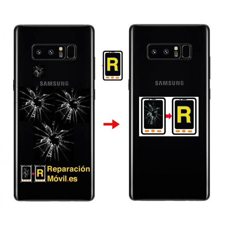 Cambiar Tapa Samsung Note 8