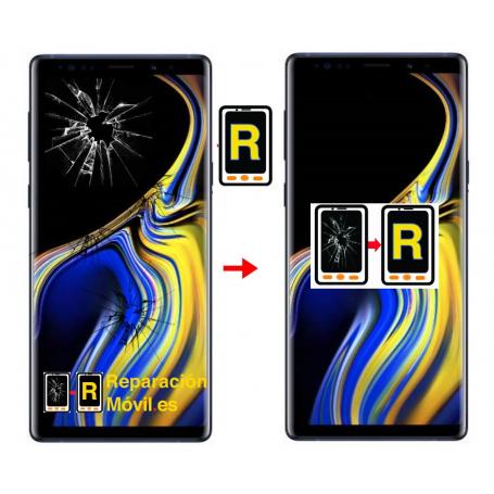 Cambiar Cristal Samsung Note 9