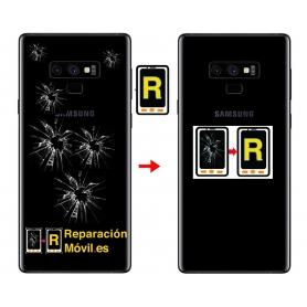 Cambiar Tapa Trasera Samsung Note 9