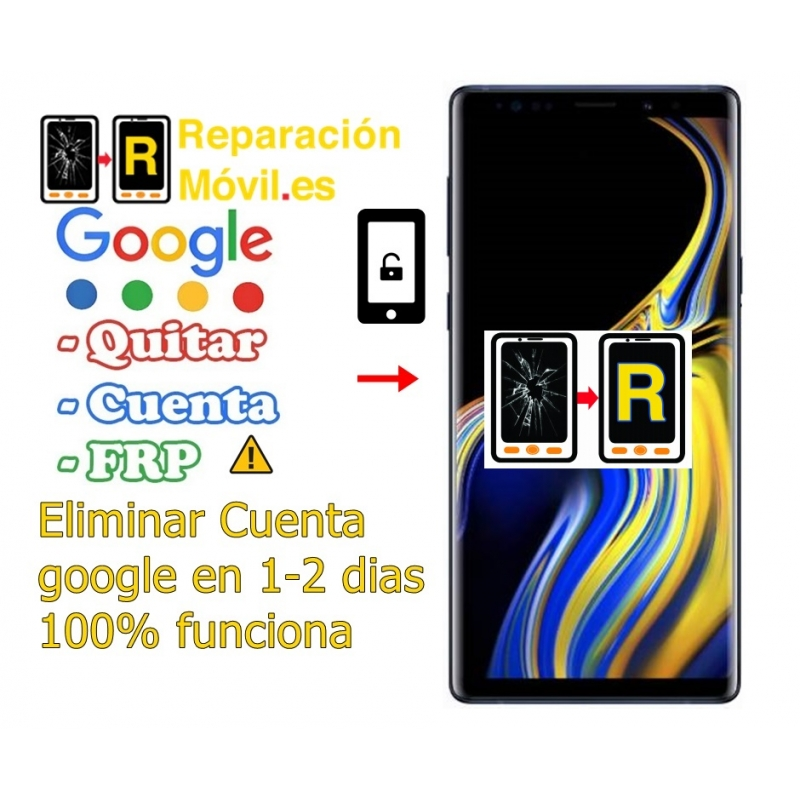Eliminar Cuenta Google Frp Samsung Note 9