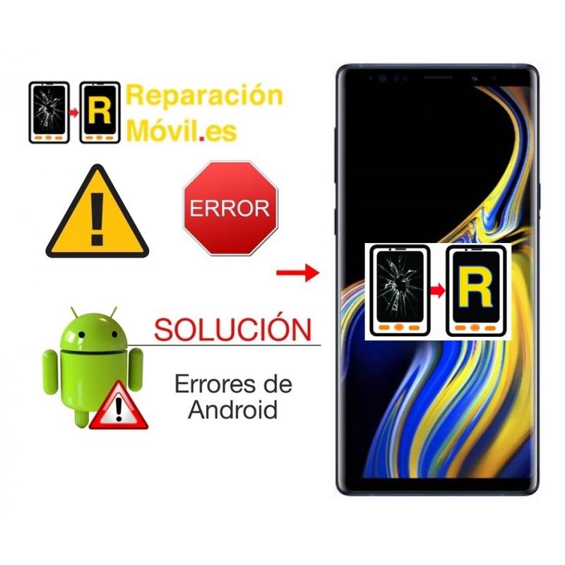 Solución De Sistema Samsung Note 9