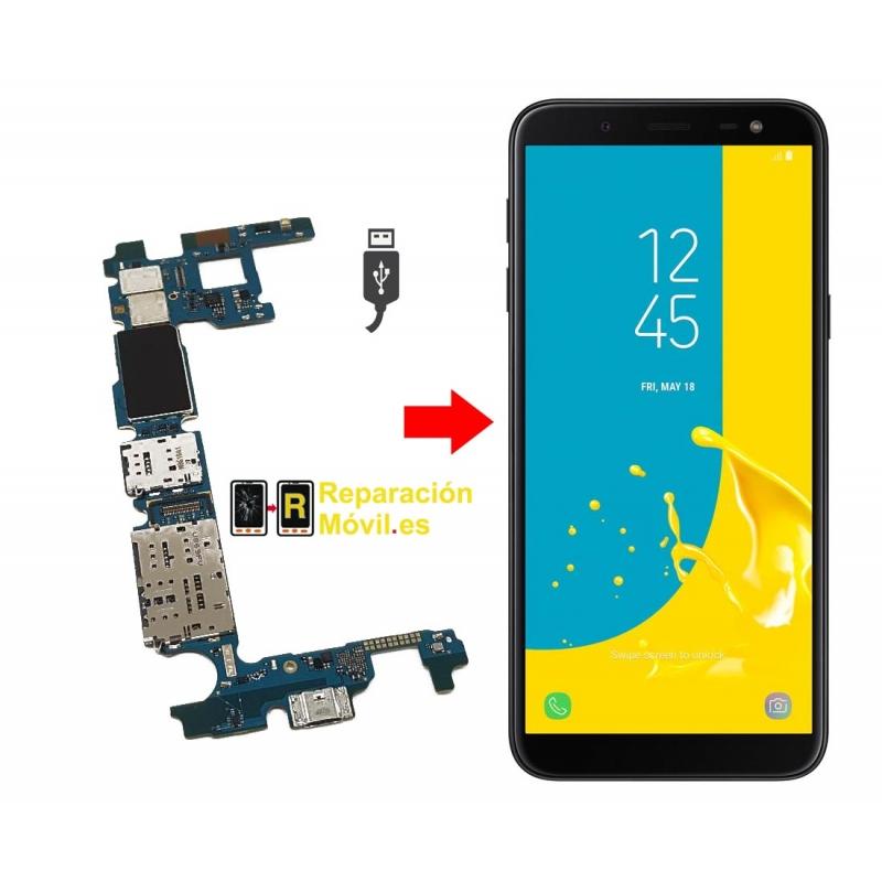Cambiar Conector de Carga Samsung Galaxy J6 Plus 2018