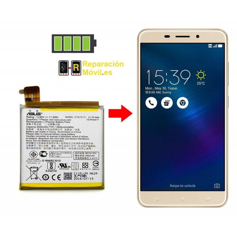 Cambiar Batería ASUS Zenfone SELFIE ZD551KL