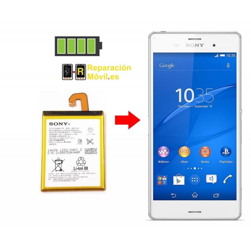 Cambiar Batería Sony Z3