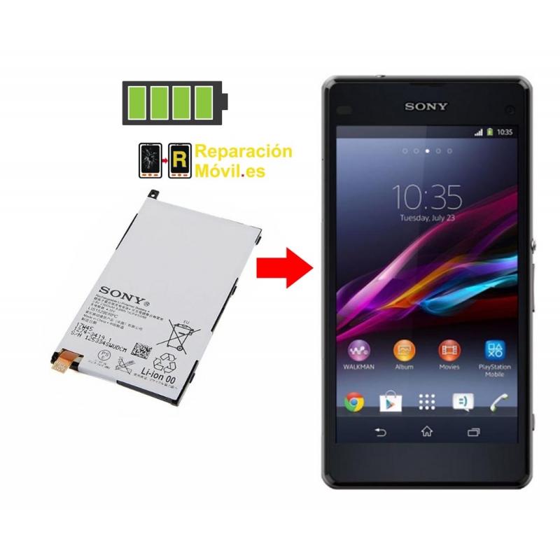 Cambiar Batería Sony Z mini