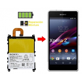 Cambiar Batería Sony Z1