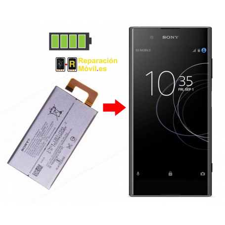 Cambiar Batería Sony XA1 Plus