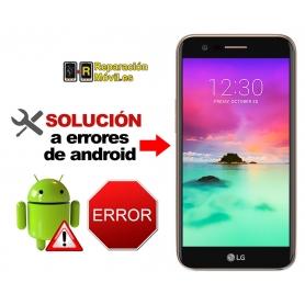 Solución Sistema Error LG K10 2017