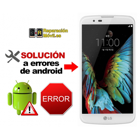Solución Sistema Error LG K10