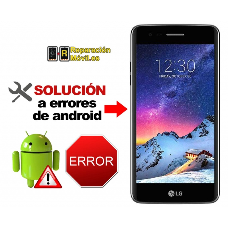 Solución Sistema Error LG K8 2017