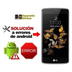 Solución Sistema Error LG K8