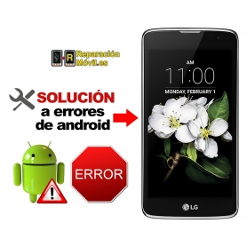 Solución Sistema Error LG K7
