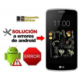 Solución Sistema Error LG K5