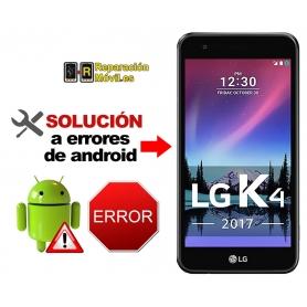 Solución Sistema Error LG K4 2017