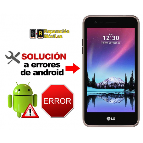Solución Sistema Error LG K4