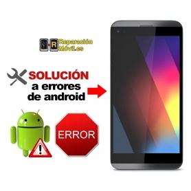 Solución Sistema Error LG Q8