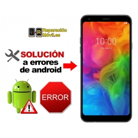 Solución Sistema Error LG Q7