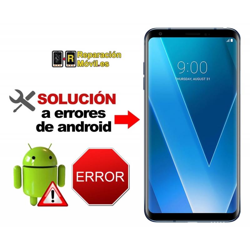 Solución Sistema Error LG V30