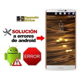 Solución Sistema Error LG V10