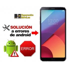 Solución Sistema Error LG G6