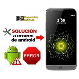 Solución Sistema Error LG G5