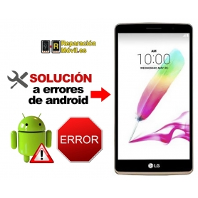 Solución Sistema Error LG G4 STYLUS