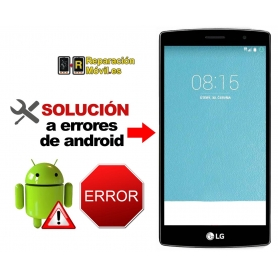 Solución Sistema Error LG G4S