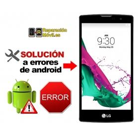 Solución Sistema Error LG G4C