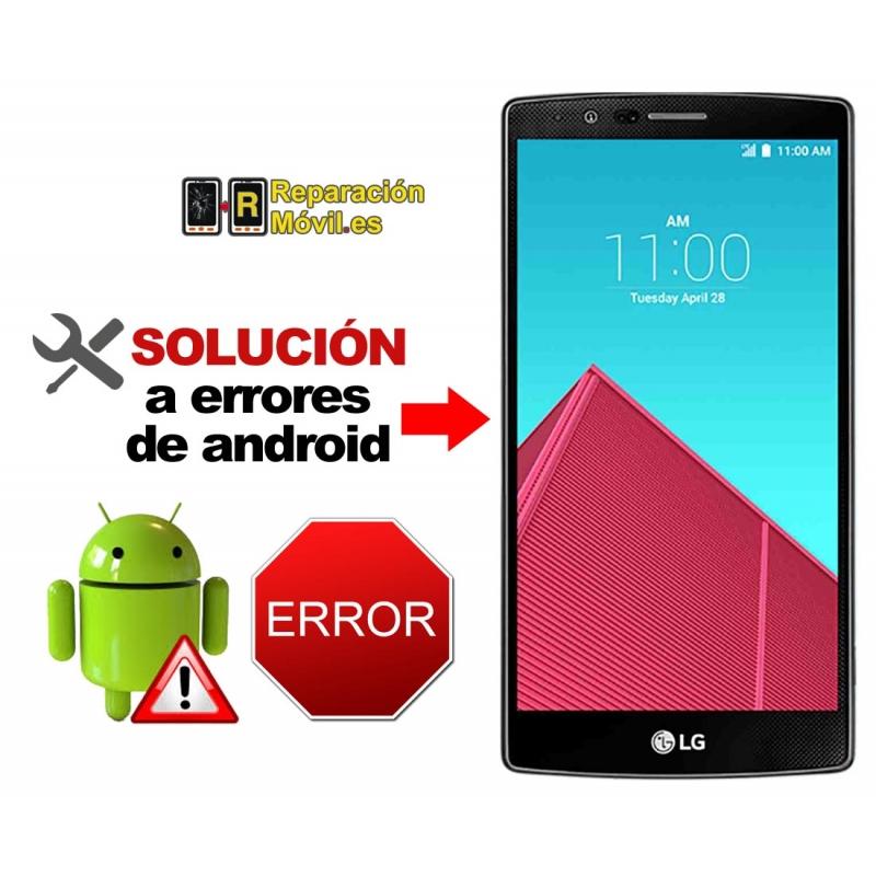 Solución Sistema Error LG G4