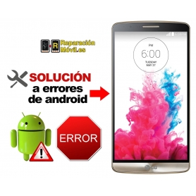 Solución Sistema Error LG G3 MINI
