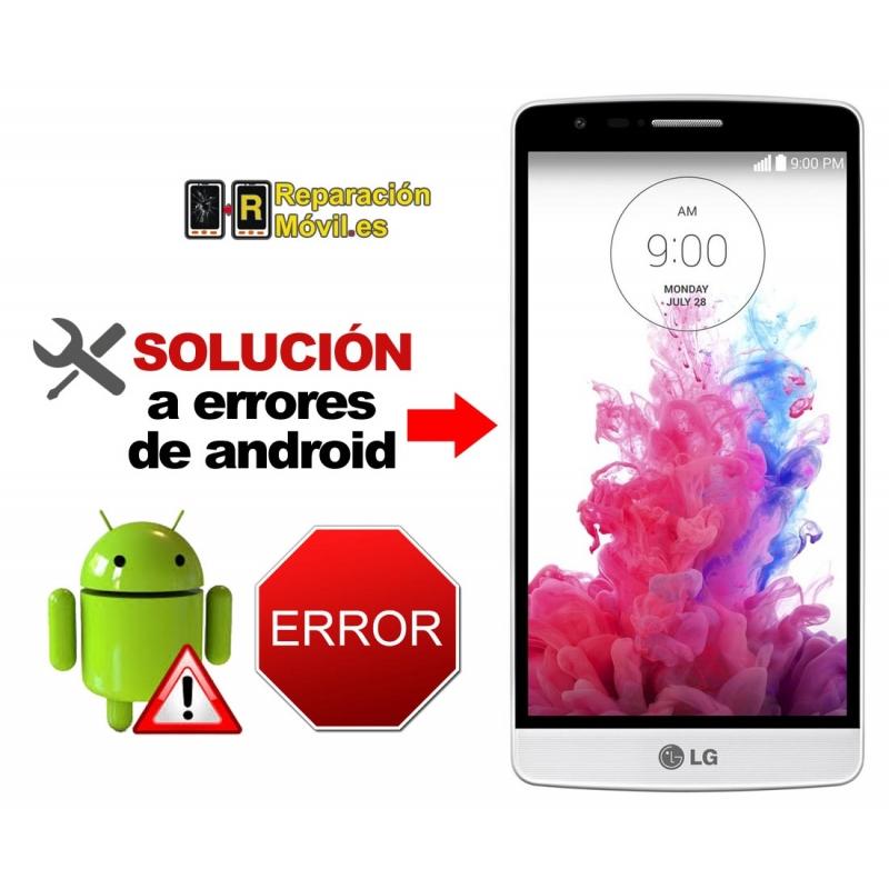 Solución Sistema Error LG G3