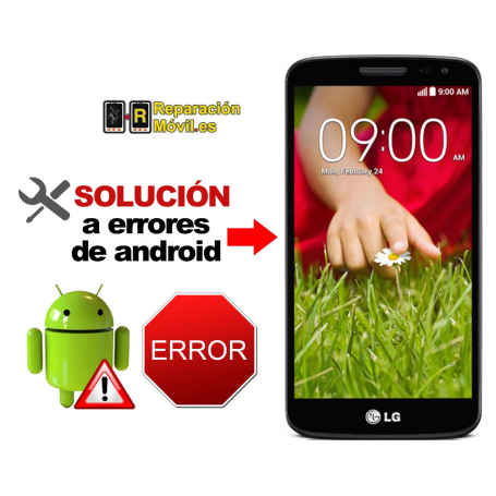 Solución Sistema Error LG G2 MINI