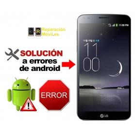 Solución Sistema Error LG G FLEX