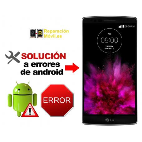 Solución Sistema Error LG G FLEX 2