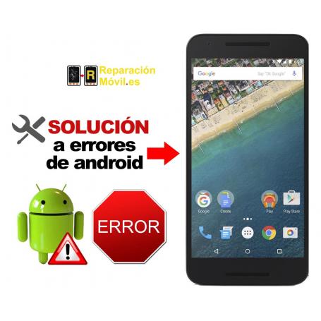 Solución Sistema Error LG NEXUS 5X