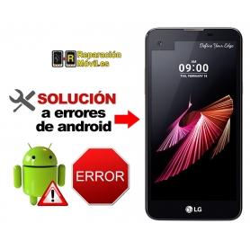 Solución Sistema Error LG X SCREEN