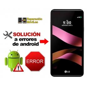 Solución Sistema Error LG X STYLE