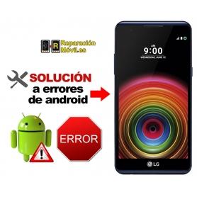 Solución Sistema Error LG X POWER