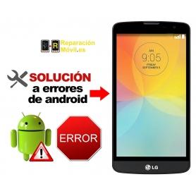 Solución Sistema Error LG BELLO