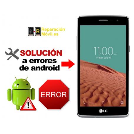 Solución Sistema Error LG BELLO 2