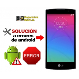 Solución Sistema Error LG SYTLUS 2