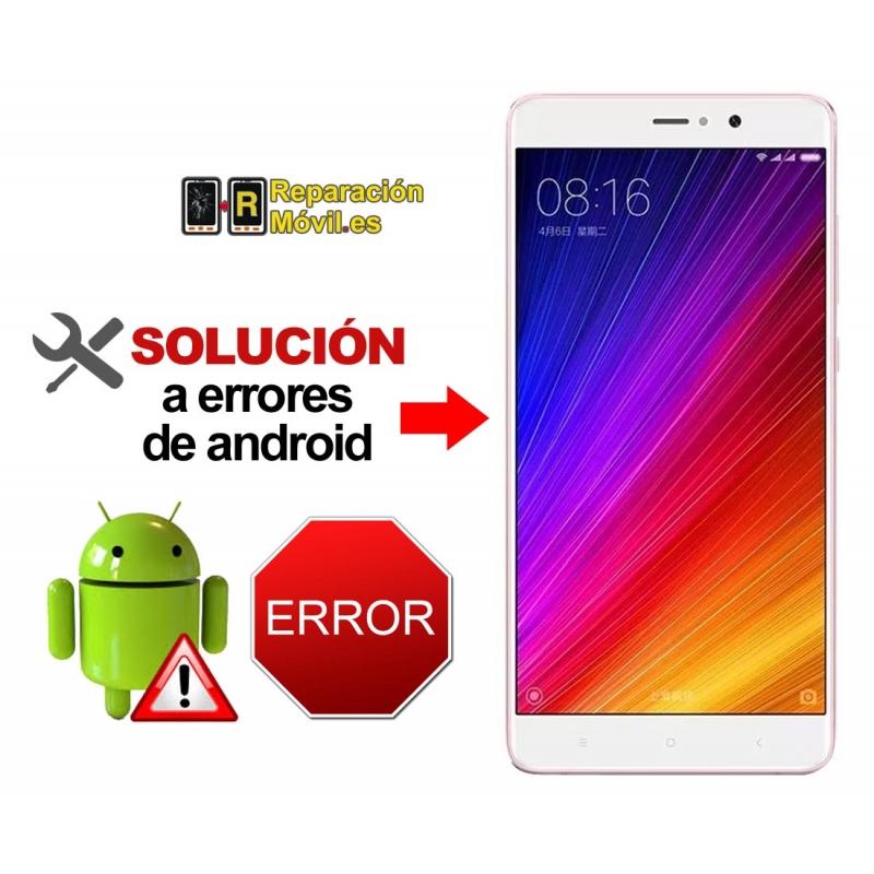 Reparar Sistema Xiaomi mi 5S PLUS