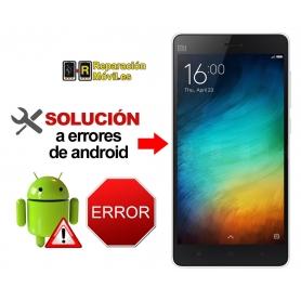 Reparar Sistema Xiaomi mi 4i