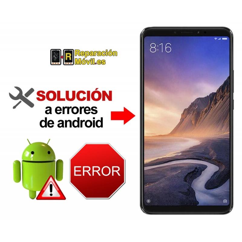Reparar Sistema Xiaomi MI MAX 3