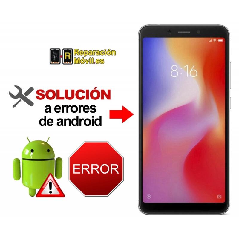 Reparar Sistema Xiaomi REDMI 6A