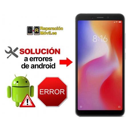 Reparar Sistema Xiaomi REDMI 6