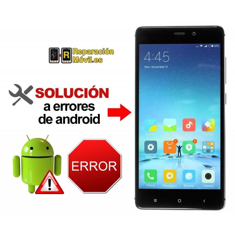 Reparar Sistema Xiaomi REDMI 4