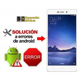 Reparar Sistema Xiaomi REDMI 3X