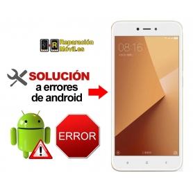 Reparar Sistema Xiaomi REDMI NOTE 5A PRIME