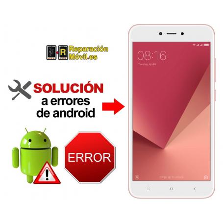 Reparar Sistema Xiaomi REDMI NOTE 5A